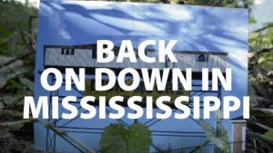 Back On Down in Mississippi
