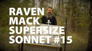 Raven Mack Supersized Sonnet #15