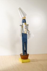 Happy Lieutenant Sculpture