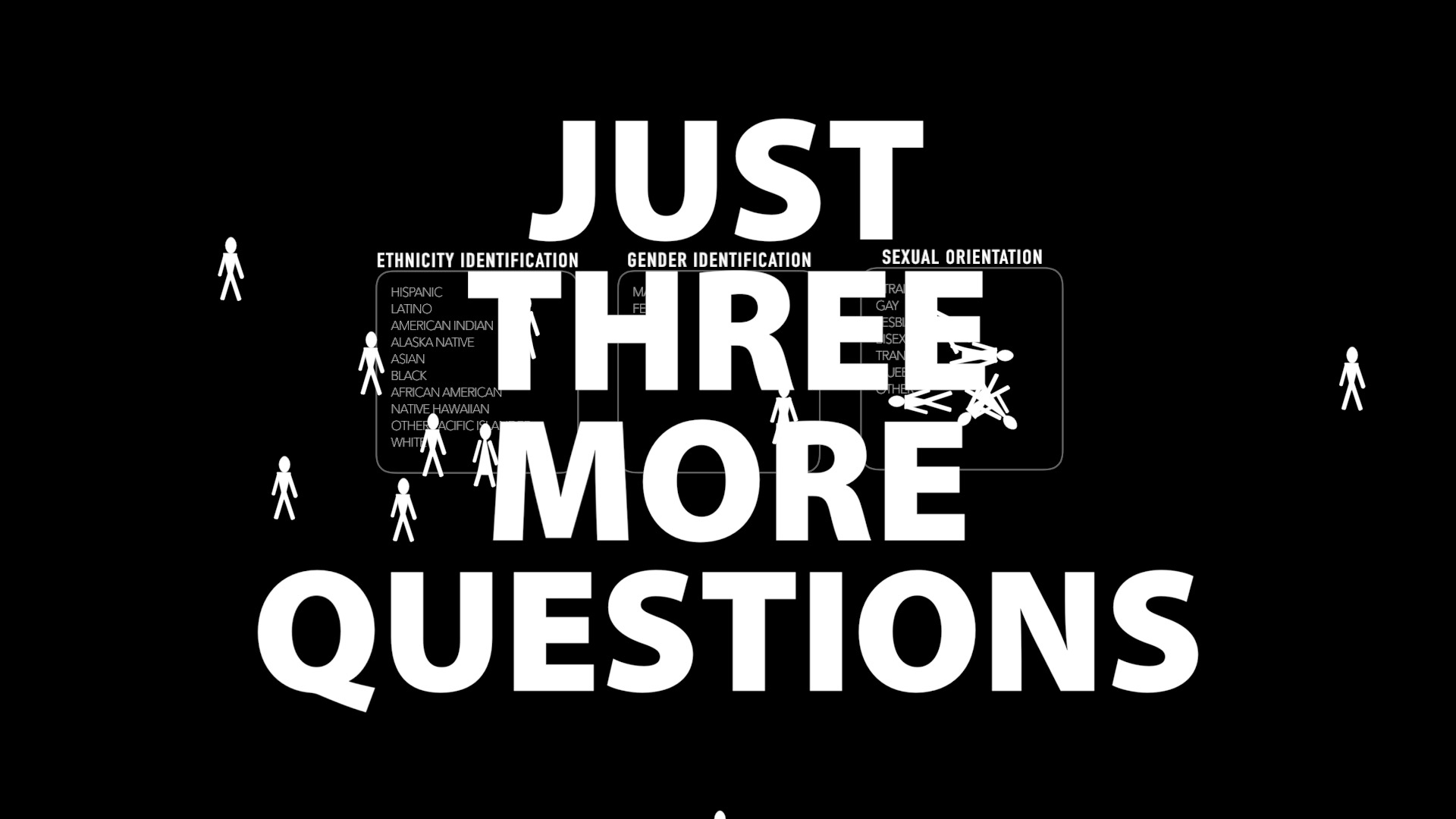 Just Three More Questions