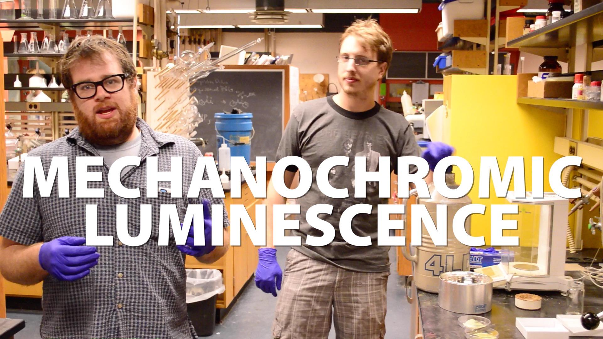 Mechanochromic Luminescence