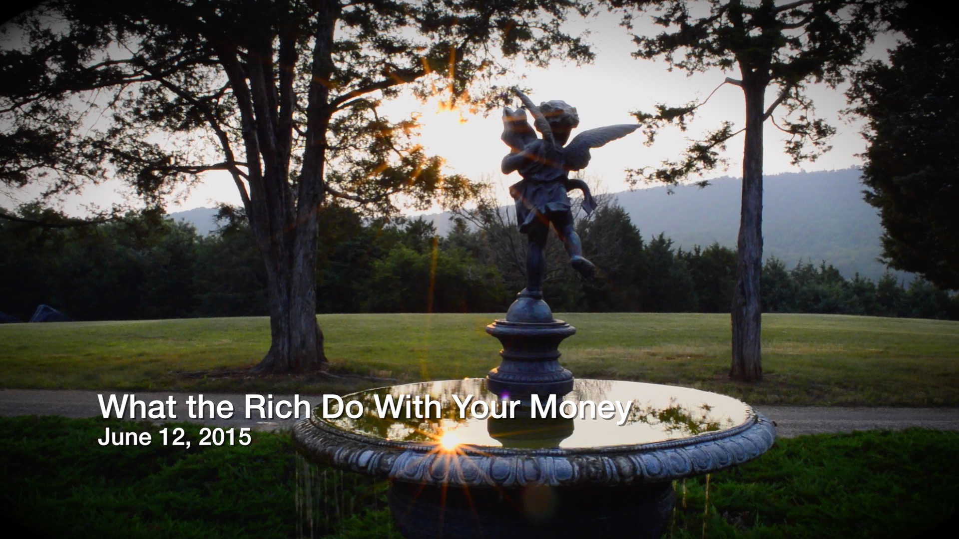 What the Rich Do with Your Money
