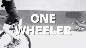One Wheeler