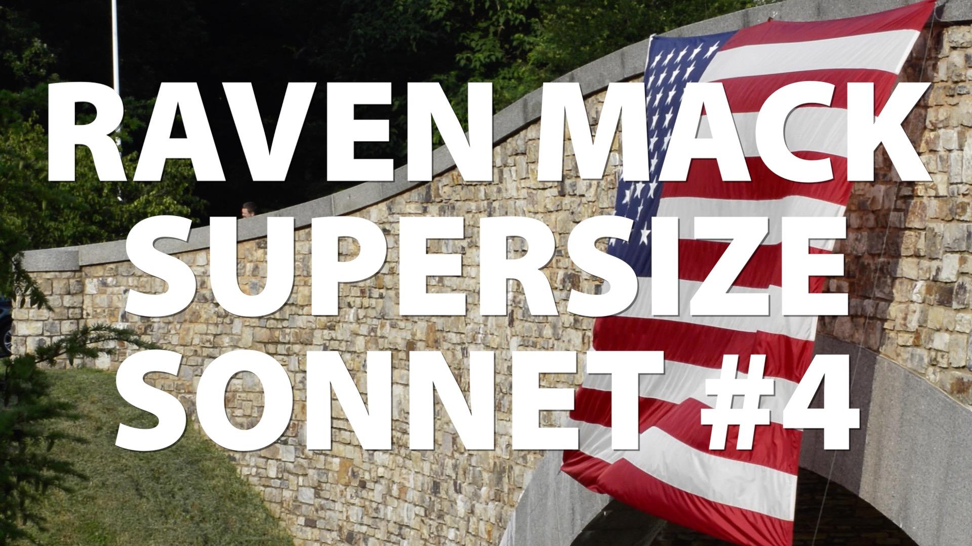 Raven Mack Supersized Sonnet #4