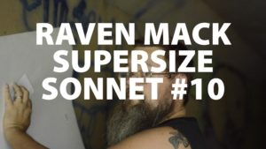 Raven Mack Supersized Sonnet #10