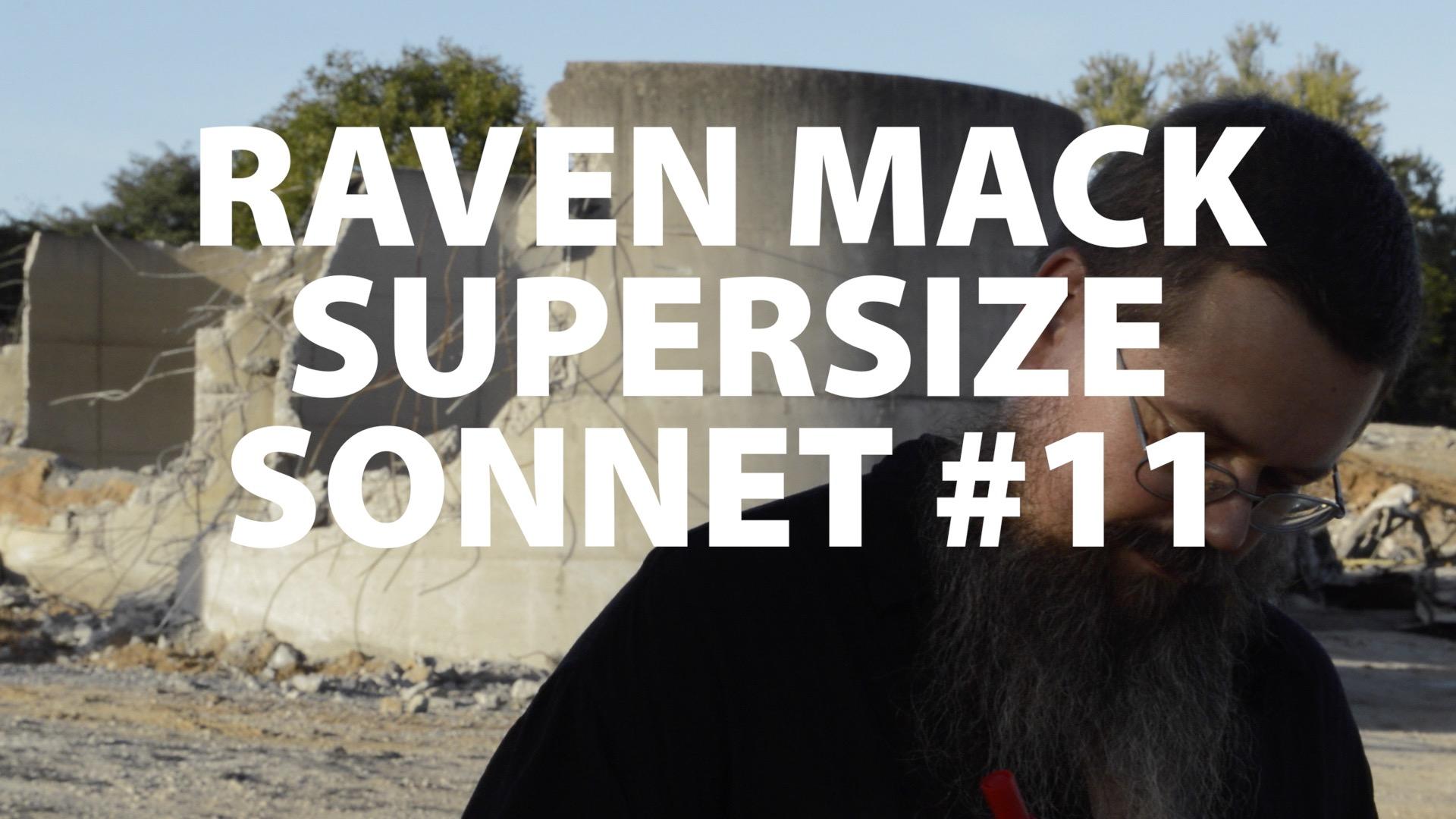 Raven Mack Supersized Sonnet #11