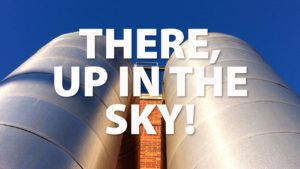 There, Up in the Sky!