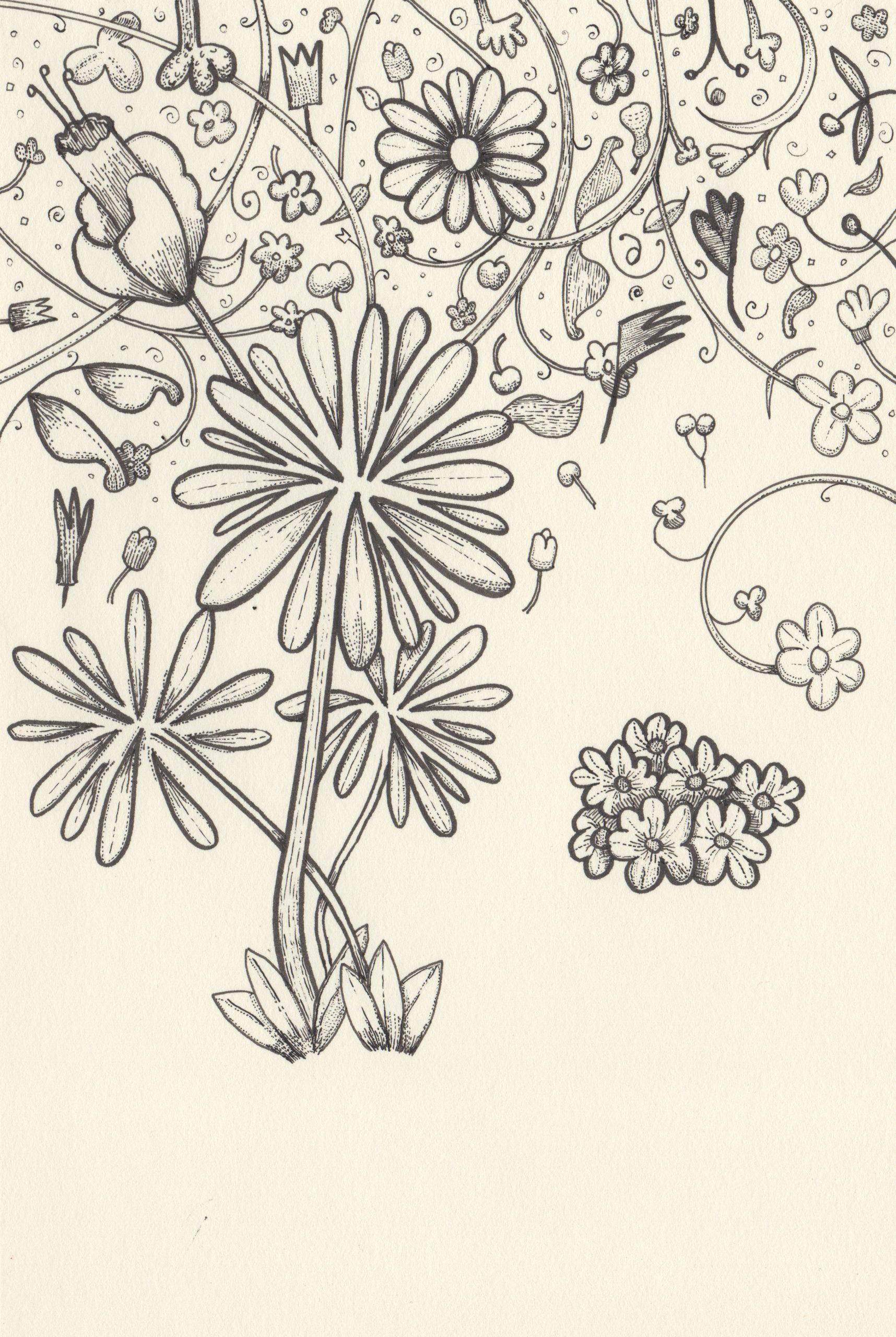 Flower Garden Fine