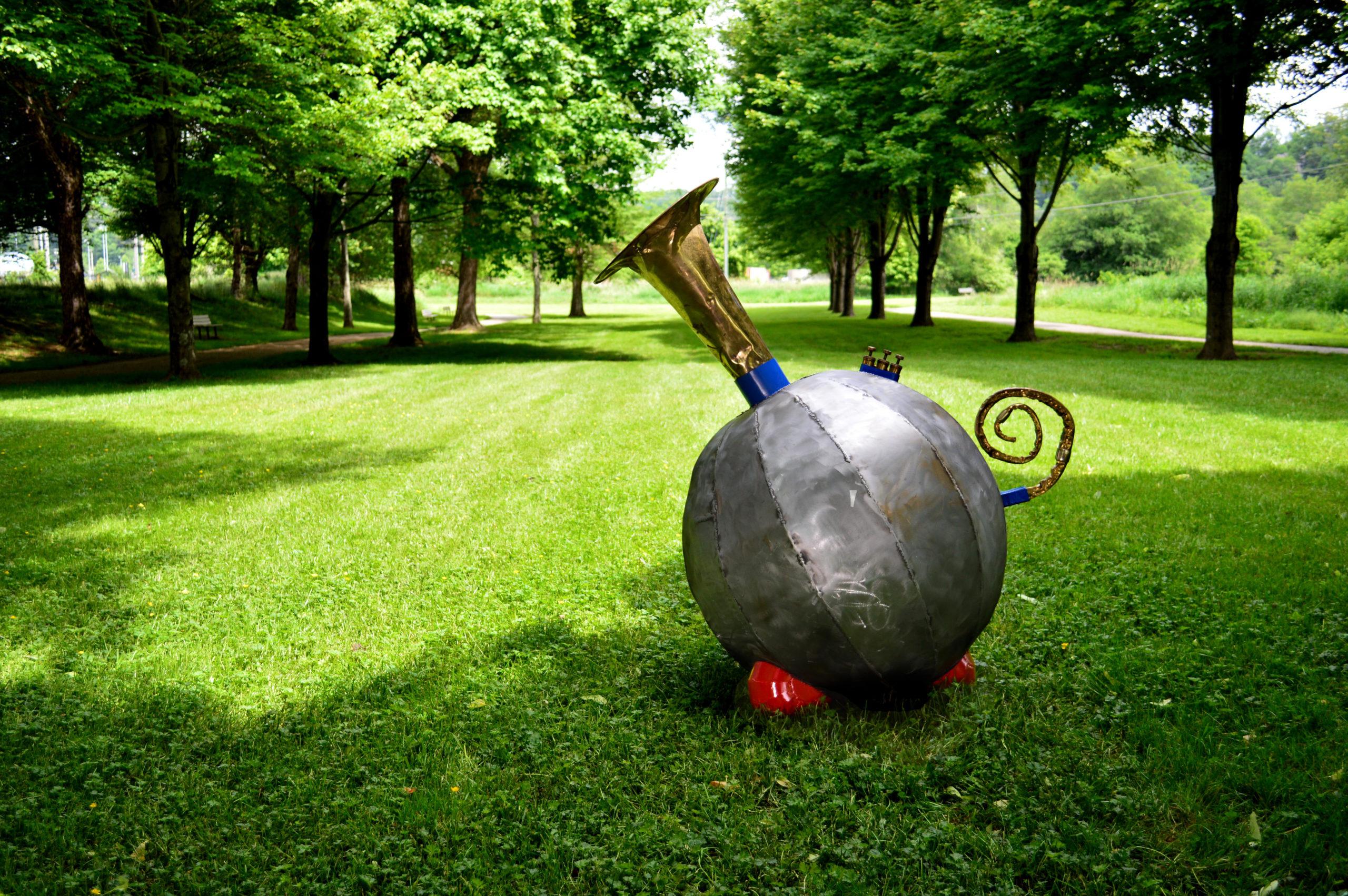 Olonium sculpture